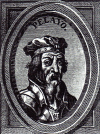 Retrato ideal del rey Don Pelayo, siglo XVIII
